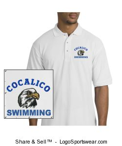 Silk Touch Polo Shirt Design Zoom